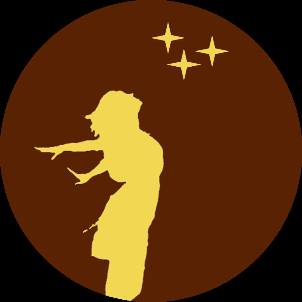 Logo 'Zij schittert' Academie